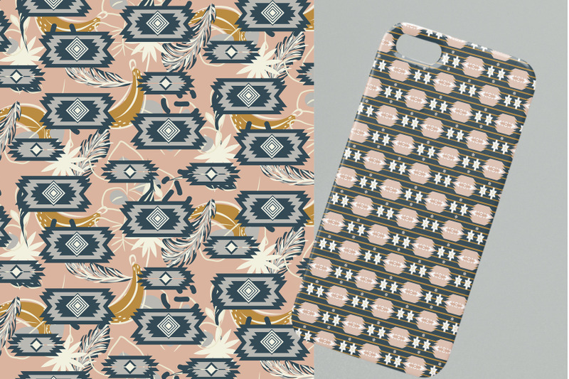 quot-ethnic-motifs-quot-seamless-patterns