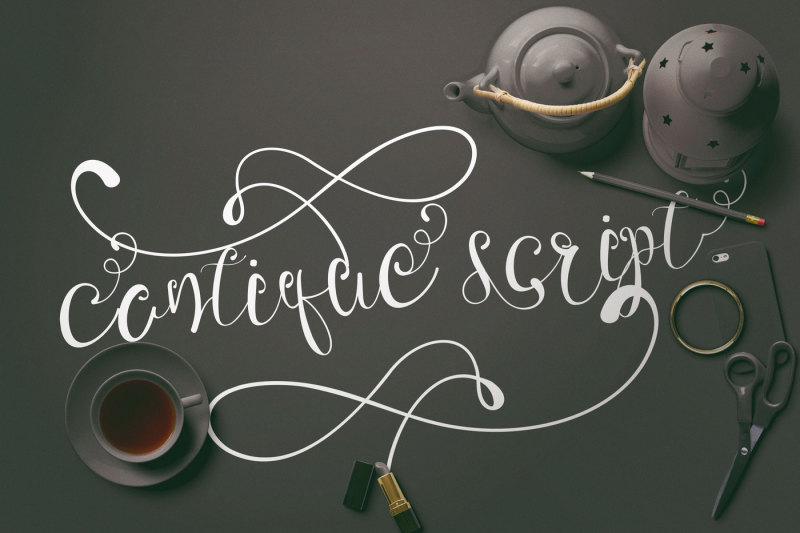 cantique-script-calligraphy