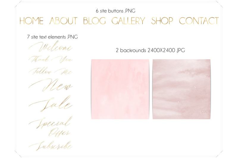 blush-pink-watercolor-and-gold-design-kit