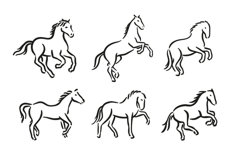 horse-symbol-graphic-illustration