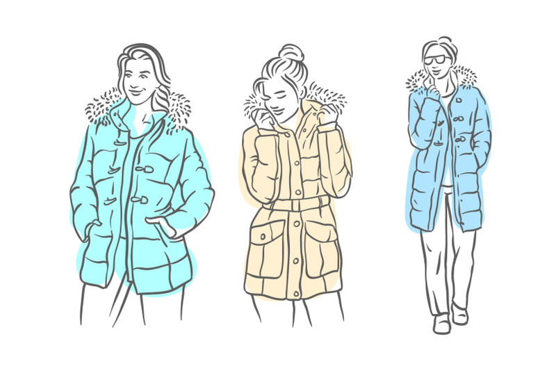 woman-in-jacket-illustration