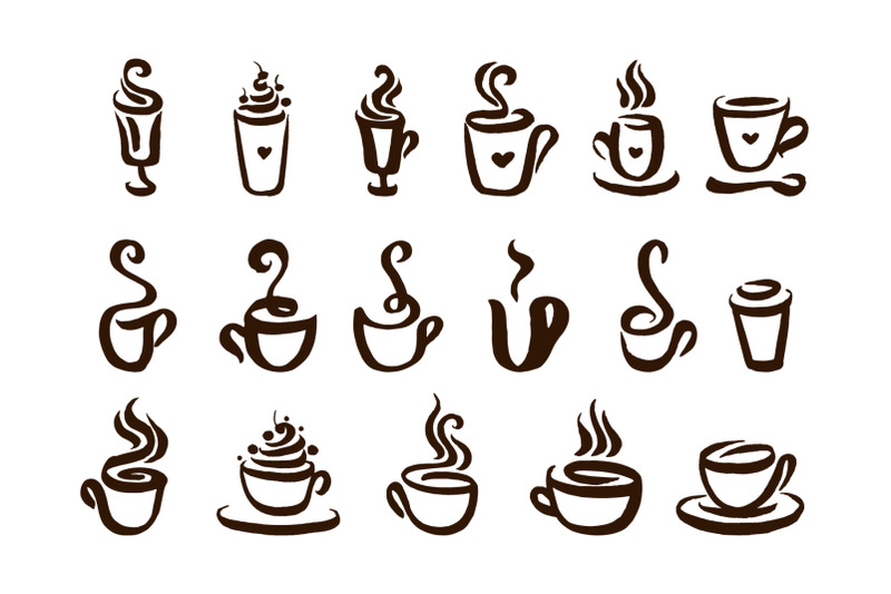 coffee-hand-drown-illustrations