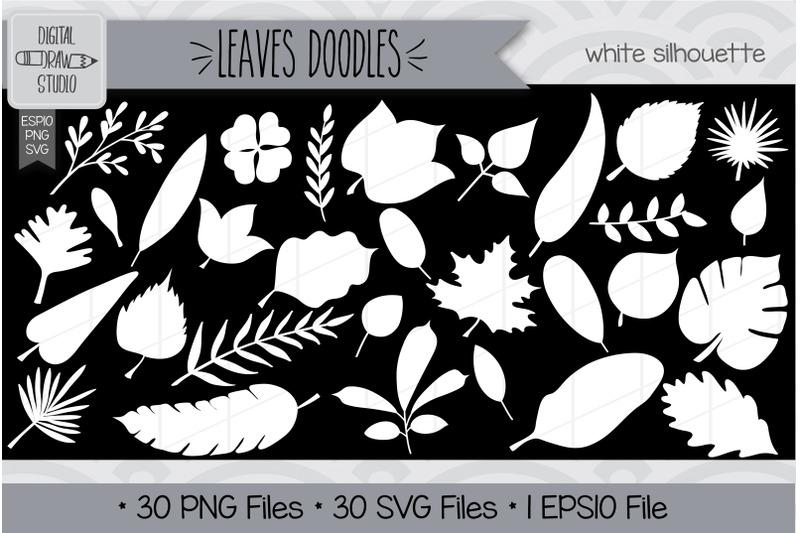 360-leaves-doodles-hand-drawn-illustrations-bundle