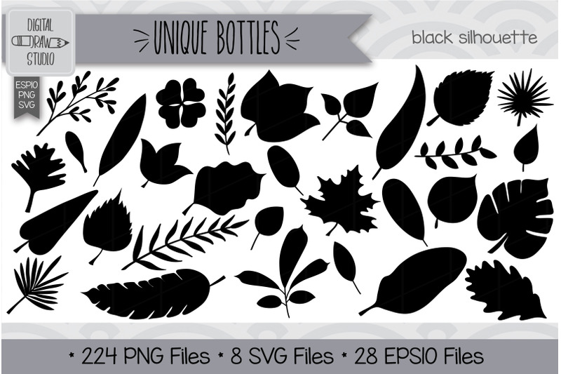 210-leaves-doodles-hand-drawn-illustrations-bundle