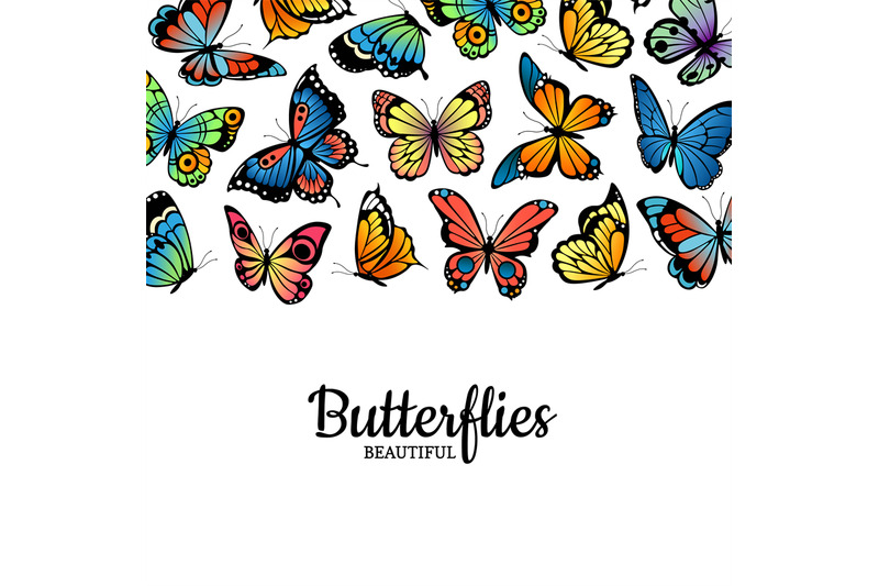 vector-decorative-butterflies-colored-insects-background-illustration