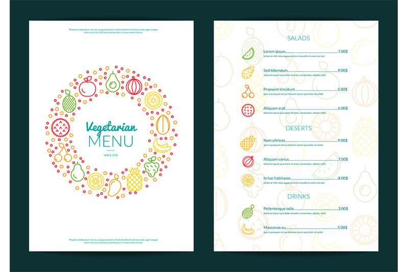 vector-line-fruits-icons-vegan-cafe-or-restaurant-menu-template-illust