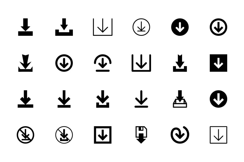 24-download-icon-set