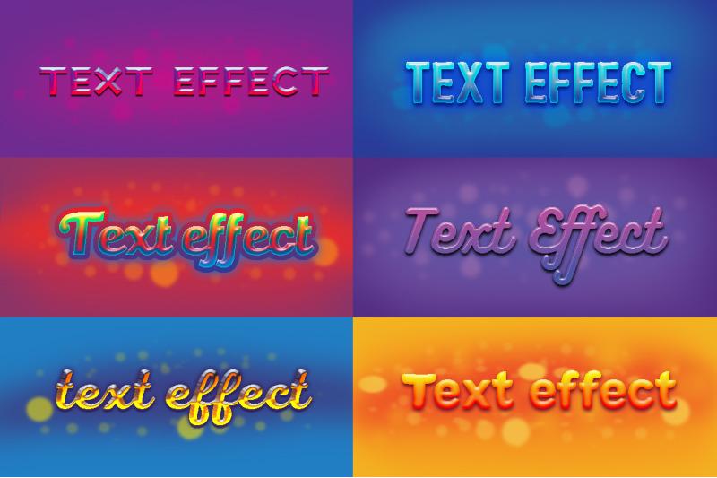6-text-effects-set