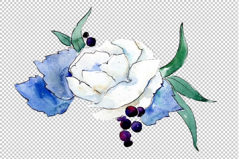 bouquet-gentle-rustle-watercolor-png
