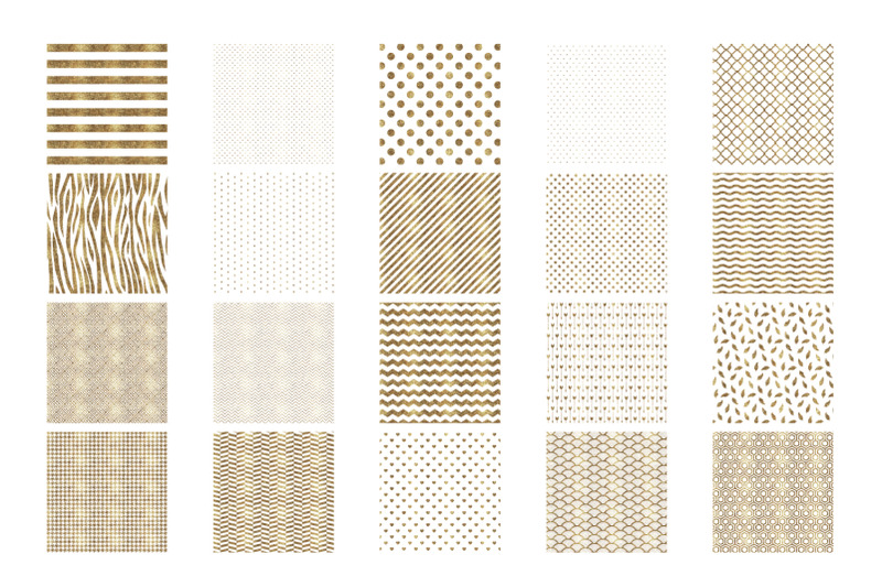 white-and-gold-white-glitter-digital-papers