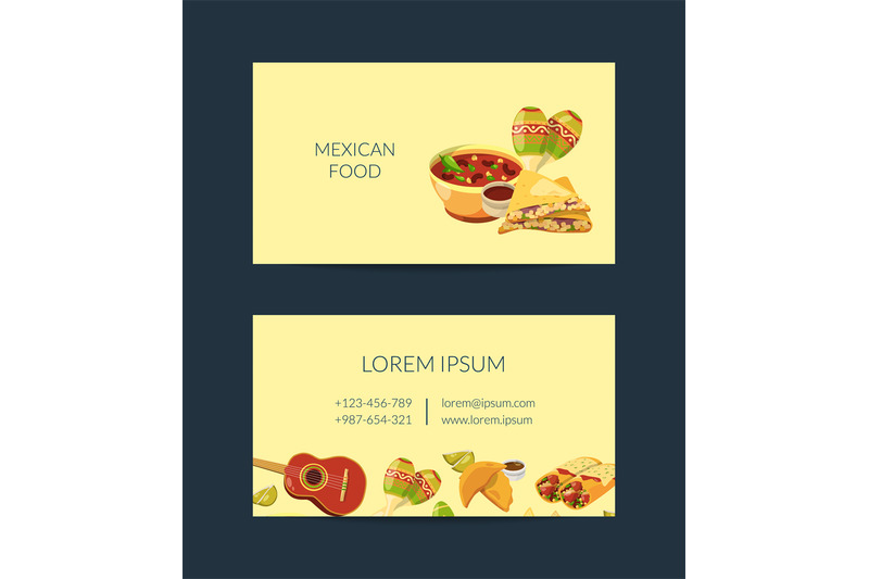 vector-cartoon-mexican-food-business-card-template-for-mexican-cuisine
