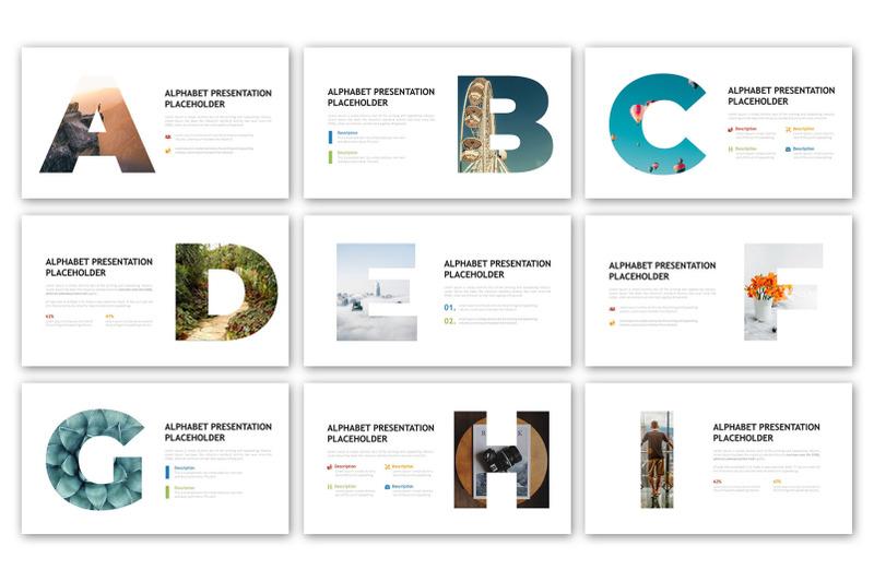 alphabet-infographic-template
