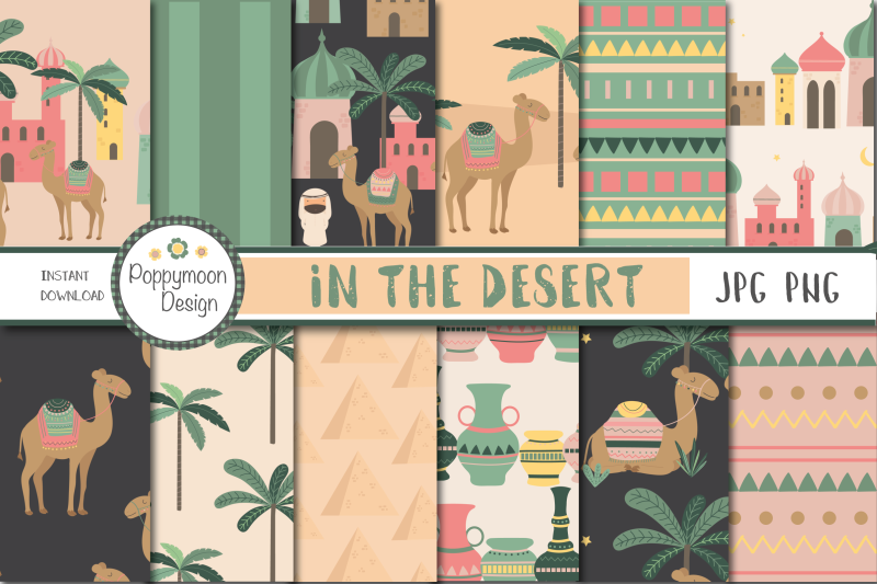 in-the-desert-camels-paper
