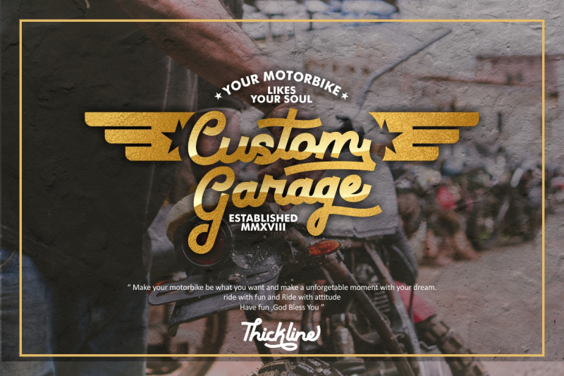 thickline-classic-bold-font