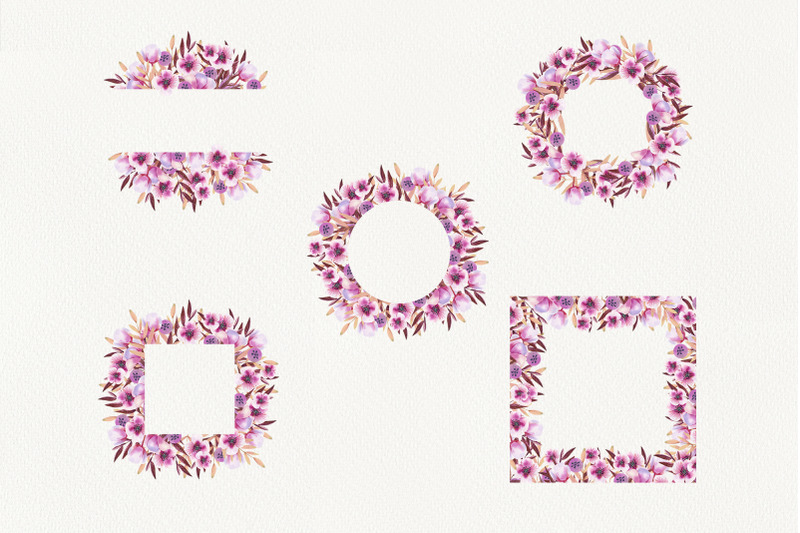 watercolor-wedding-floral-frames