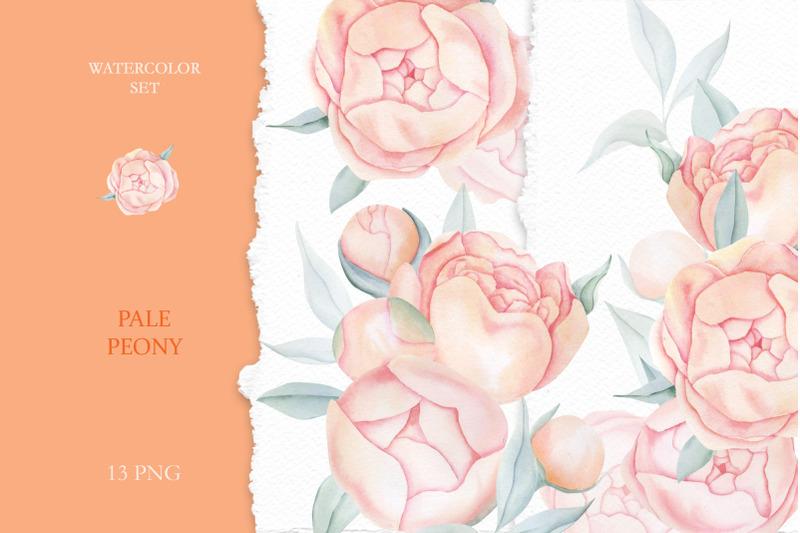 watercolor-peach-roses