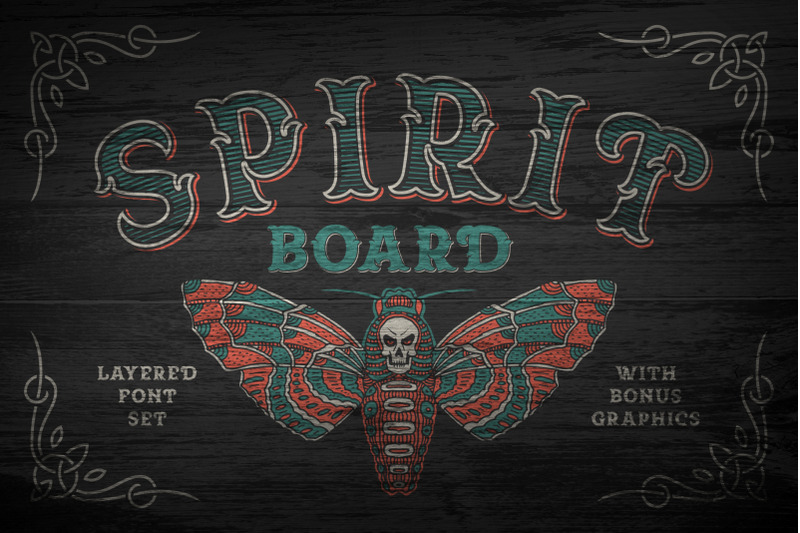 spirit-board-font-set