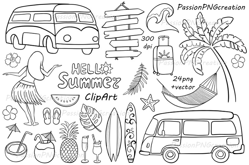 doodle-summer-clipart
