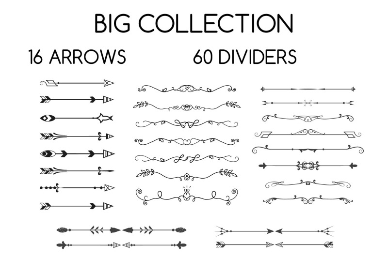 dividers-and-arrows-collection