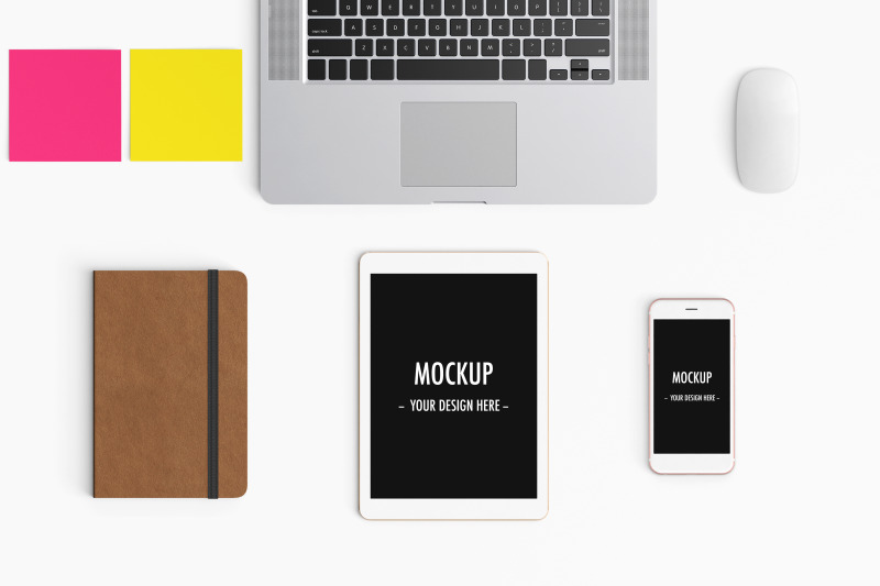 modern-workspace-mockup-top-view