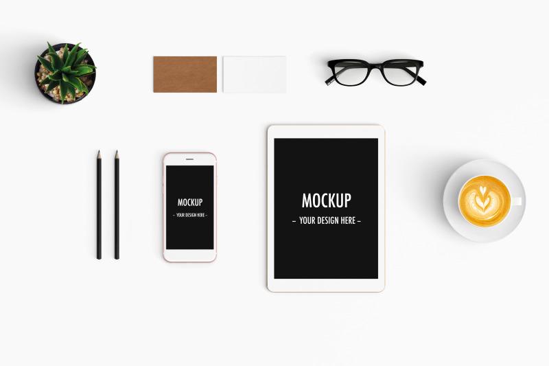 Free Notebook Mockup Social Media Booster (PSD Mockups)