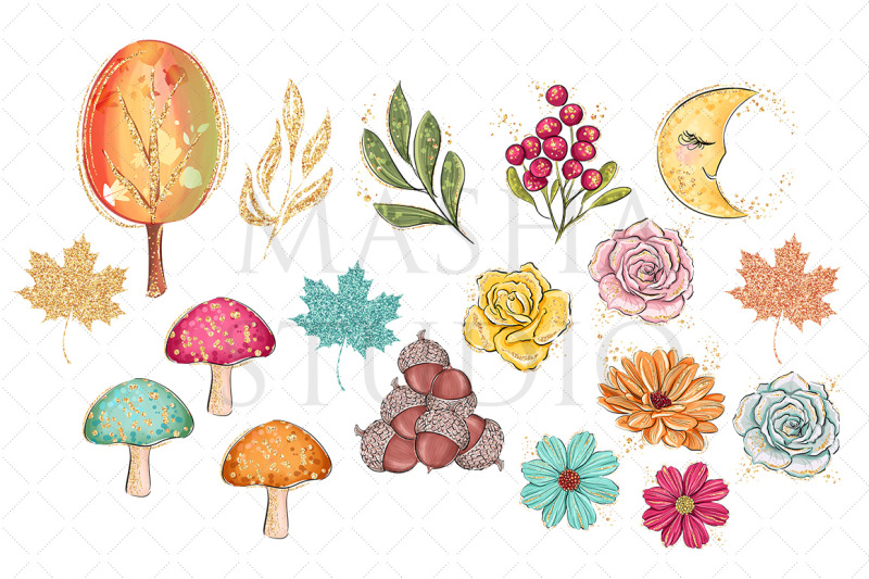 forest-friends-clipart