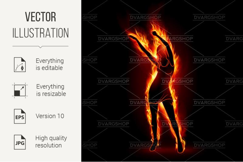 fiery-girl