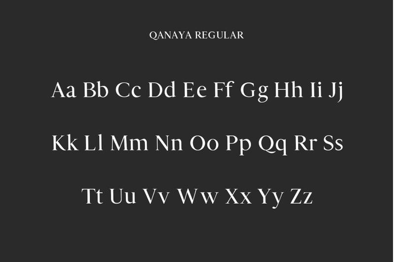 qanaya-serif-font-family-pack