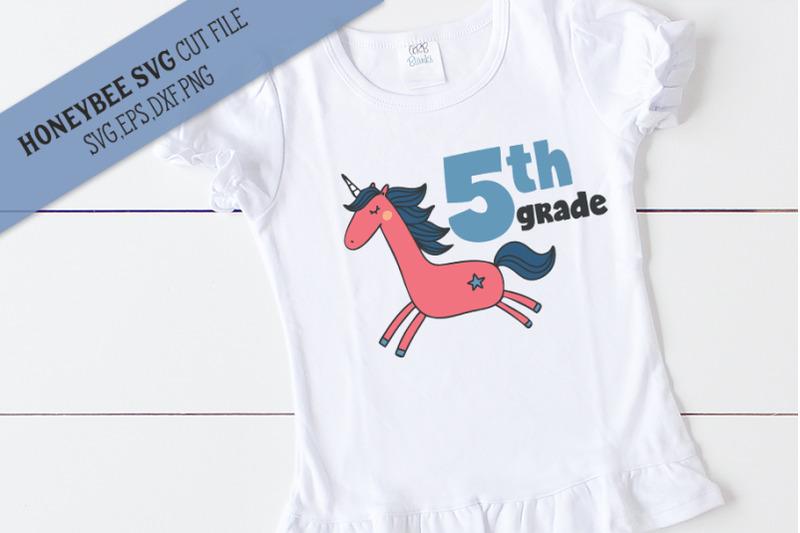 5th-grade-unicorn-svg-cut-file