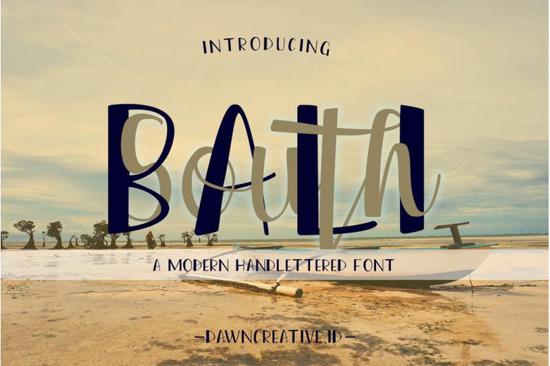 south-bali-font