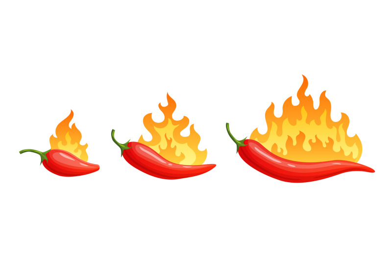 cartoon-hot-peppers-spicy-pepper-with-fire-flames-and-flames-red-chil