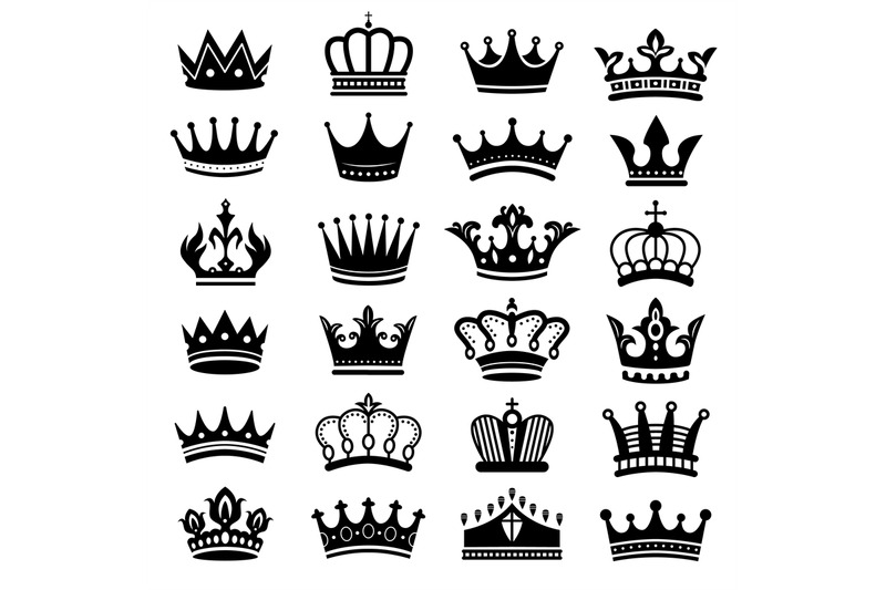 royal-crown-silhouette-king-crowns-majestic-coronet-and-luxury-tiara