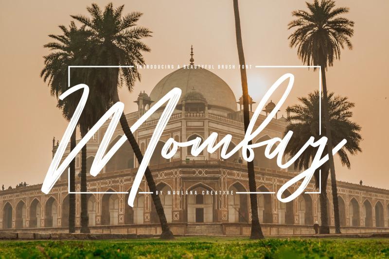 mombay-brush-font