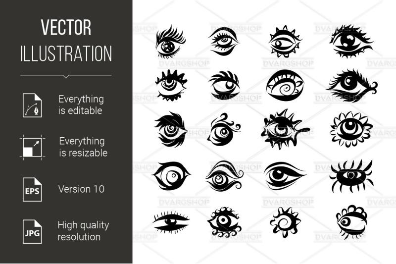 eyes-icons