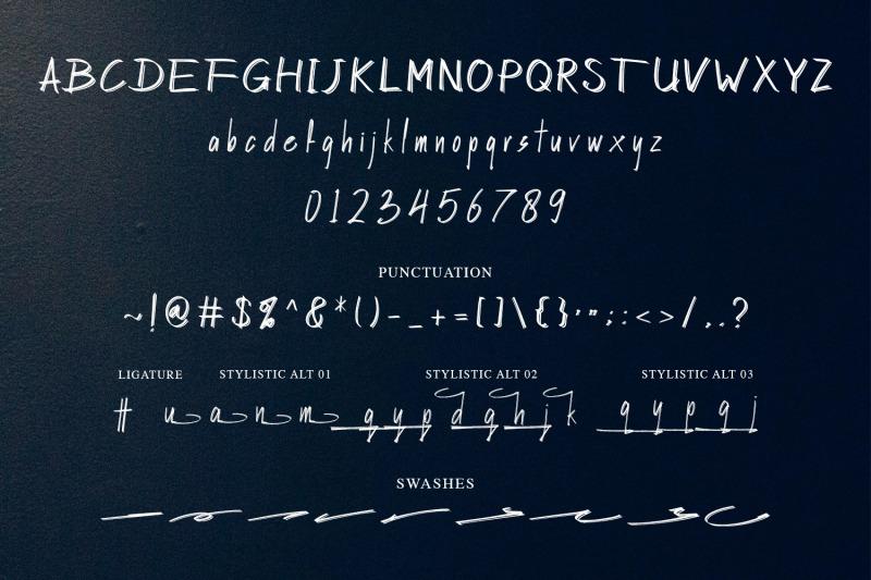 hasley-dabrown-dual-line-handbrush-nbsp-font