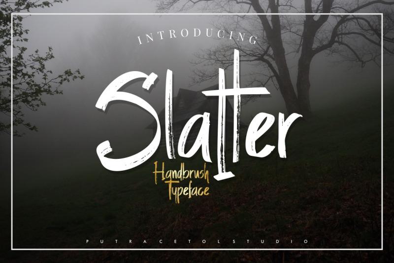 slatter-handbrush-typeface