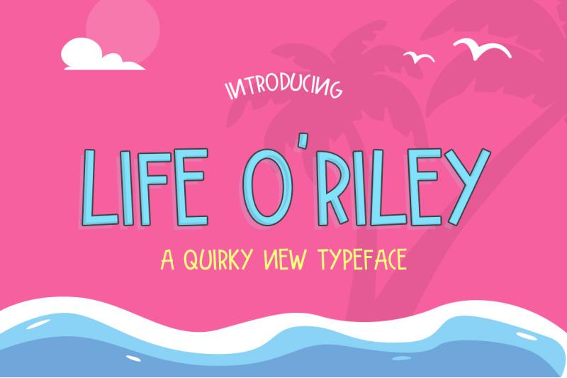 life-o-039-riley-font