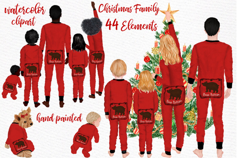 watercolor-christmas-family-clipart-christmas-cards-designs