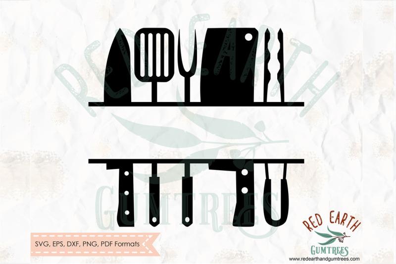grill-split-monogram-frame-decal-bbq-split-frame-svg-png-eps-dxf