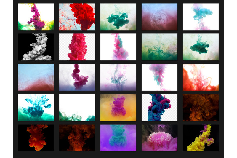 200-high-quality-ink-in-water-splash-digital-photoshop-overlays