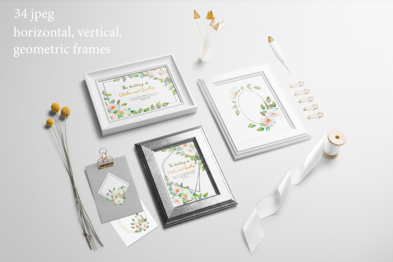flower-frames-with-white-rose-hip-flowers-watercolor