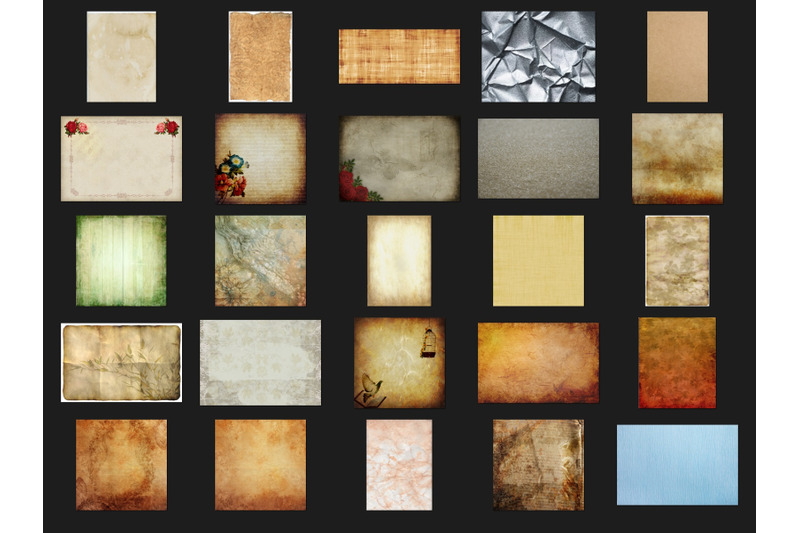 200-high-quality-paper-digital-photoshop-overlays