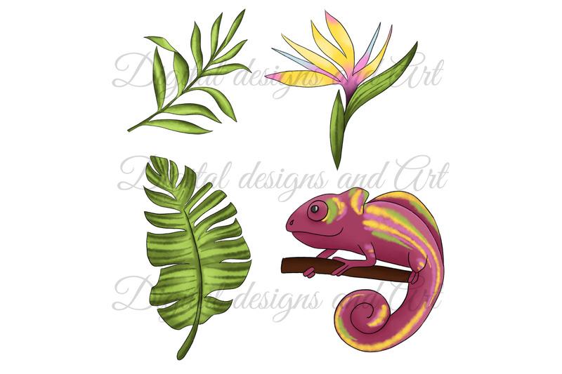 chameleon-clipart