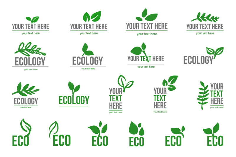 ecological-logo-leaves-symbol