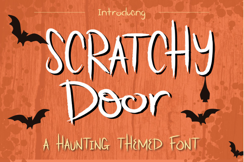 scratchy-door-halloween-font