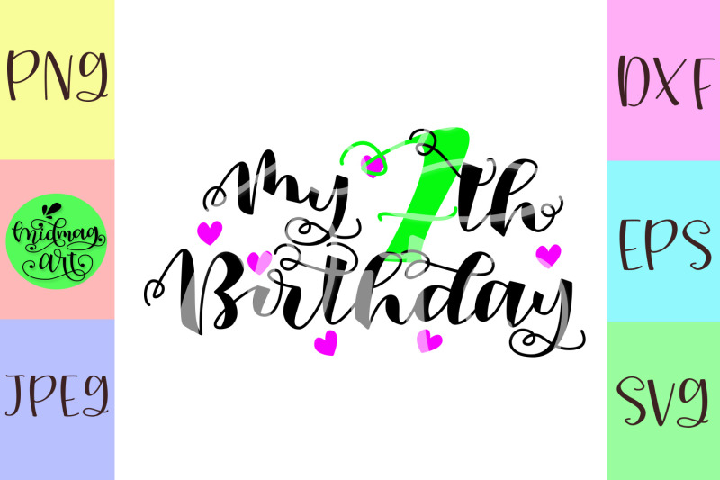 my-7th-birthday-svg