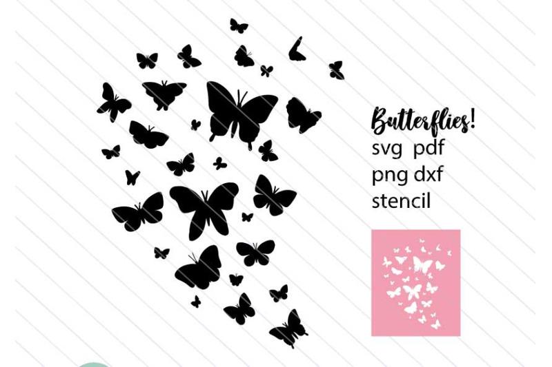 butterfly-svg-butterfllies-stencil-svg-vector-clipart-silhouette