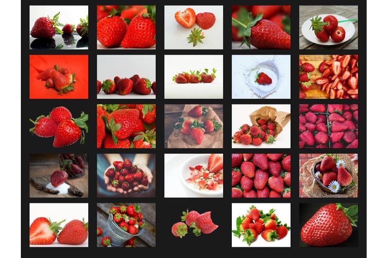 200-high-quality-strawberry-fruit-digital-photoshop-overlays