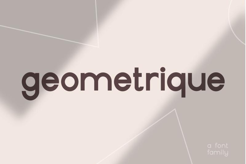 geometrique-sans-font-family