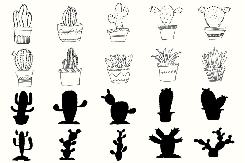 20-handdrawn-cactus-cliparts